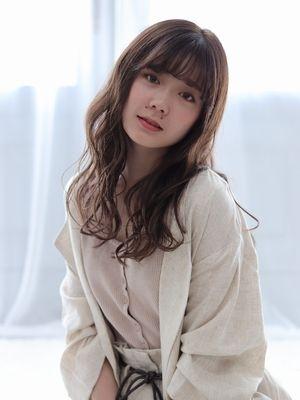 【valentine松永】フォギーベージュ * ふわセミディ