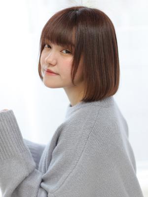 【valentine松永】ツヤ感ナチュラルボブ**