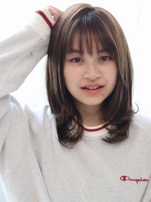 【valentine千葉】ワンカール内巻きAライン*