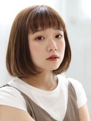 【valentine中居】小顔ぱっつん前髪*ボブ