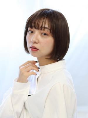 【valentine金澤】ツヤ感×小顔ボブ