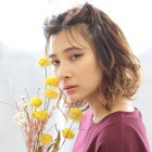 【春色カラーとハイクオリティヘッドスパ体験★】カット+カラー+クリームバス