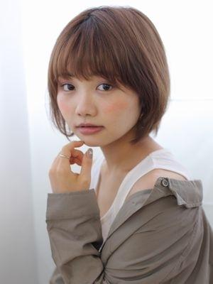 イルミナ艶カラー×ふんわり似合わせボブ/marche田嶋