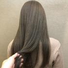 【髪質改善】小顔カット+髪質改善ナチュラルストレート+内部補修