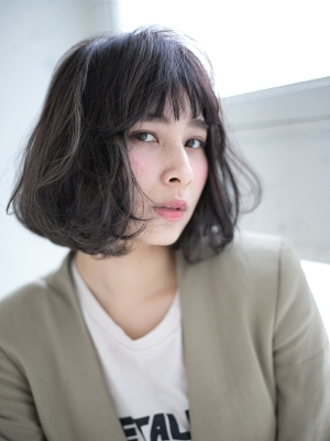 【TriumpH 天王寺店】大人グレージュ×ポイントメッシュ