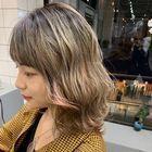 カット+前髪縮毛矯正+高濃度炭酸泉スパ