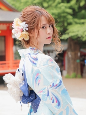 【REXY】☆浴衣ふんわりアップスタイル☆
