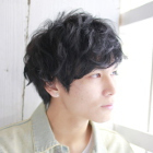 Men's★平日男性限定【根元ふんわり】カット+パーマ+クイックヘッドスパ