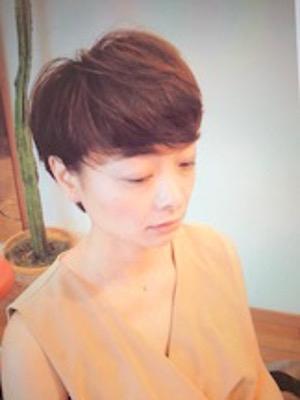 【hair design A-BOO】マッシュボブ