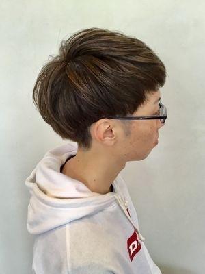 ツーブロックマッシュヘア