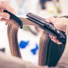 【誰もが振り返る憧れのツヤ髪◆】カット+縮毛矯正+トリートメント