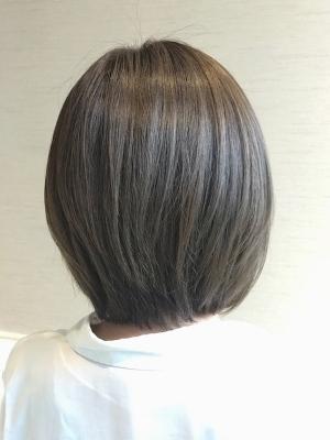 【Hair Resort LIFE】前下がりボブ×アッシュ