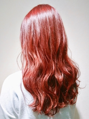 【Hair Resort LIFE 渋谷】レッドバイオレット