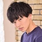 【MEN'S】似合わせカット+プチスパ(5分)+眉カット