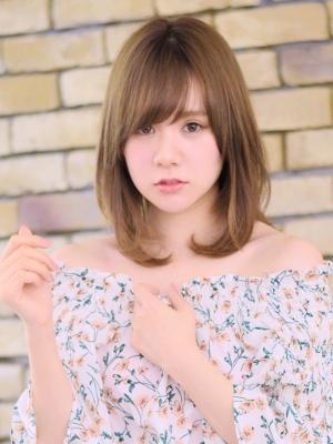 【COLO】20代30代に似合う☆小顔ひし形ロブ