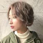 【♪前髪命な女子必見♪】カット+ダメージレス前髪パーマ 6,300円