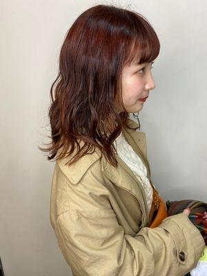 【float 梅田 天神橋 徒歩1分】チェリーブラウン