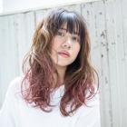 【外国人風】ファイバープレックスブリーチ【ダメージレス】+カラー