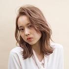 【透明感カラー】カット+ブリーチ+カラー+Tr