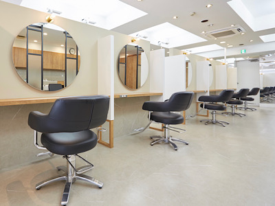 hair salon haku GINZA1