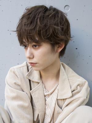 【haku/川口】ショートラフパーマ