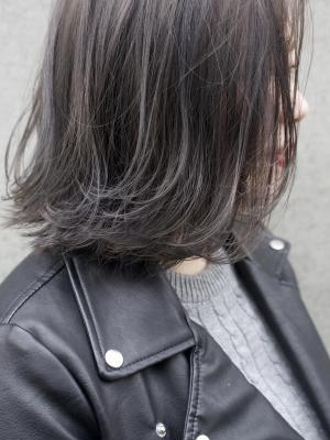 【haku/川口】プラチナグレー