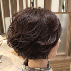【オープン記念】ツヤ髪カラー+カット(潤いトリートメントコース)