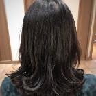 ツヤ髪カット(潤いトリートメントコース)