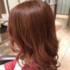 ツヤ髪カラー+カット(潤いトリートメントコース)