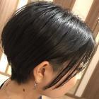 ツヤ髪カラー+カット(ヘッドスパコース)