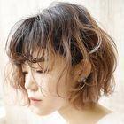 【大人女性向け☆柔らかいカール】低温ホットパーマ+カット+ハイクオリティーTR