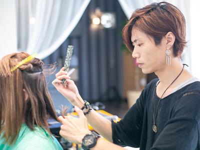 hair salon Knew day3