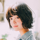 【ダメージレス】似合わせ小顔カット+艶カラー+炭酸Spa