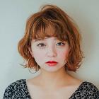 【40代女性向】大人の外国人風カラー デザインカラー+カット