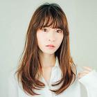 【30代女性向】上品な外国人風♪ デザインカラー+カット