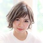 【★髪質補修menu★】艶カラー(リタッチ)+回復型TOKIOインカラミTR
