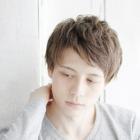 【Men's】メンズカット+眉カット+パーマ