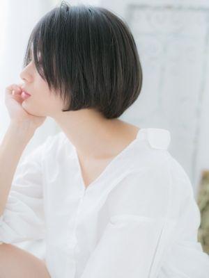 【上野御徒町美容院JOS】クールなエッジショート