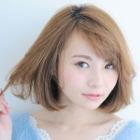 【NEW☆ダメージレス】カット+オイルカラー+トリートメント(リタッチ)