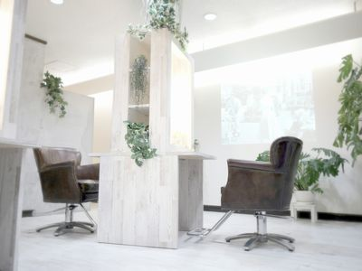 hair salon Atelier ecru