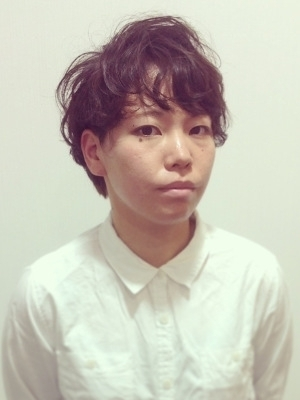20代30代大人可愛いふんわりマッシュパーマ 【伊勢崎市】
