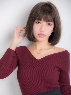 【oak 平田】マロンアッシュヘア