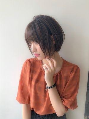 【oak 中野】小顔シルエットショート