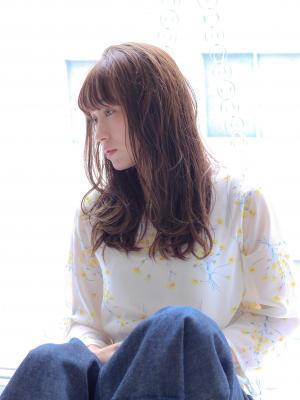【 oak 中野 】ぱっつんバング☆シスキュアウェーブ