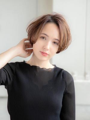 【oak 安西】エレガントショート