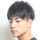 【メンズコース】カット+ダンディパーマ+「濃厚」炭酸パック
