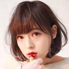 縮毛矯正+カット_KM004