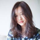 【白髪染め】オーガニックカラー+カット+トリートメント