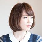 前髪カット+艶カラー+質感向上トリートメント