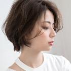 【オープン記念*】カット+オーガニックカラー+oggiottoショートスパ